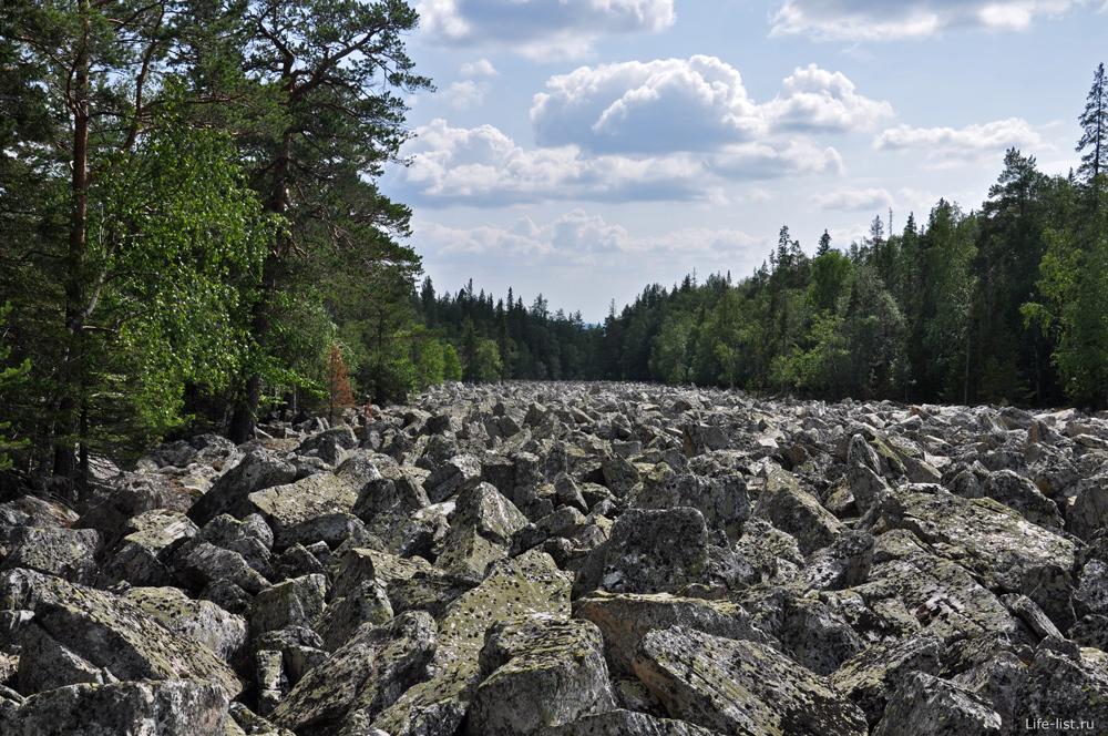 Каменная река в Таганае