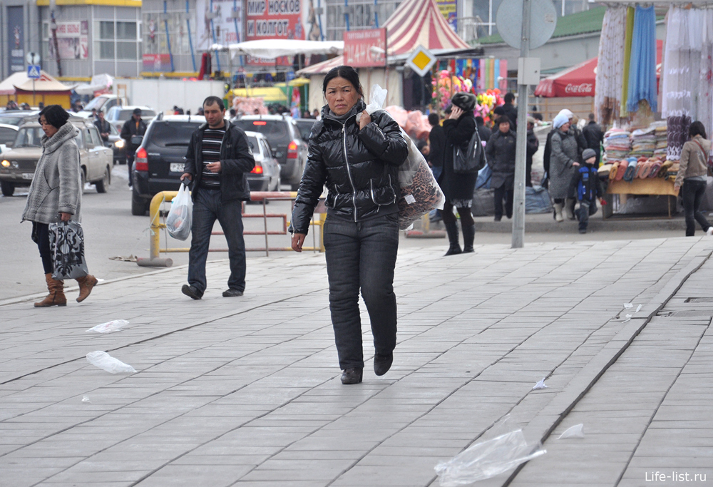 На рынке таганский ряд