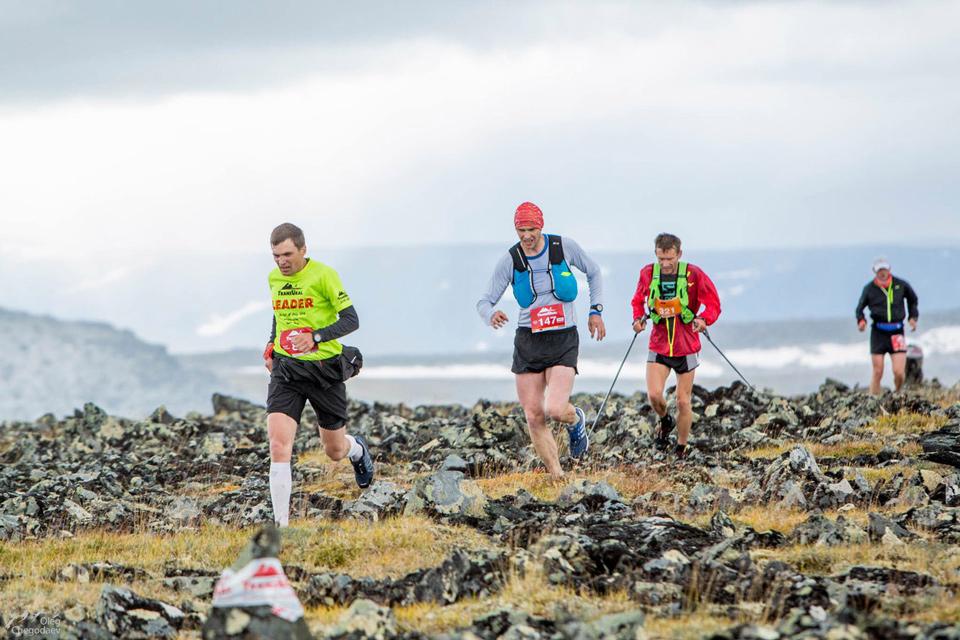 трансурал 2017 приполярный этап забег на гору Баркова