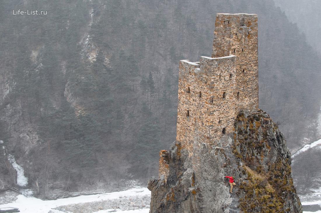 Вовнушки башенный комплекс в Ингушетии