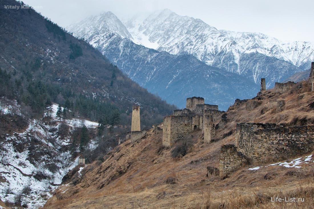 цори башенный комплекс в Ингушетии