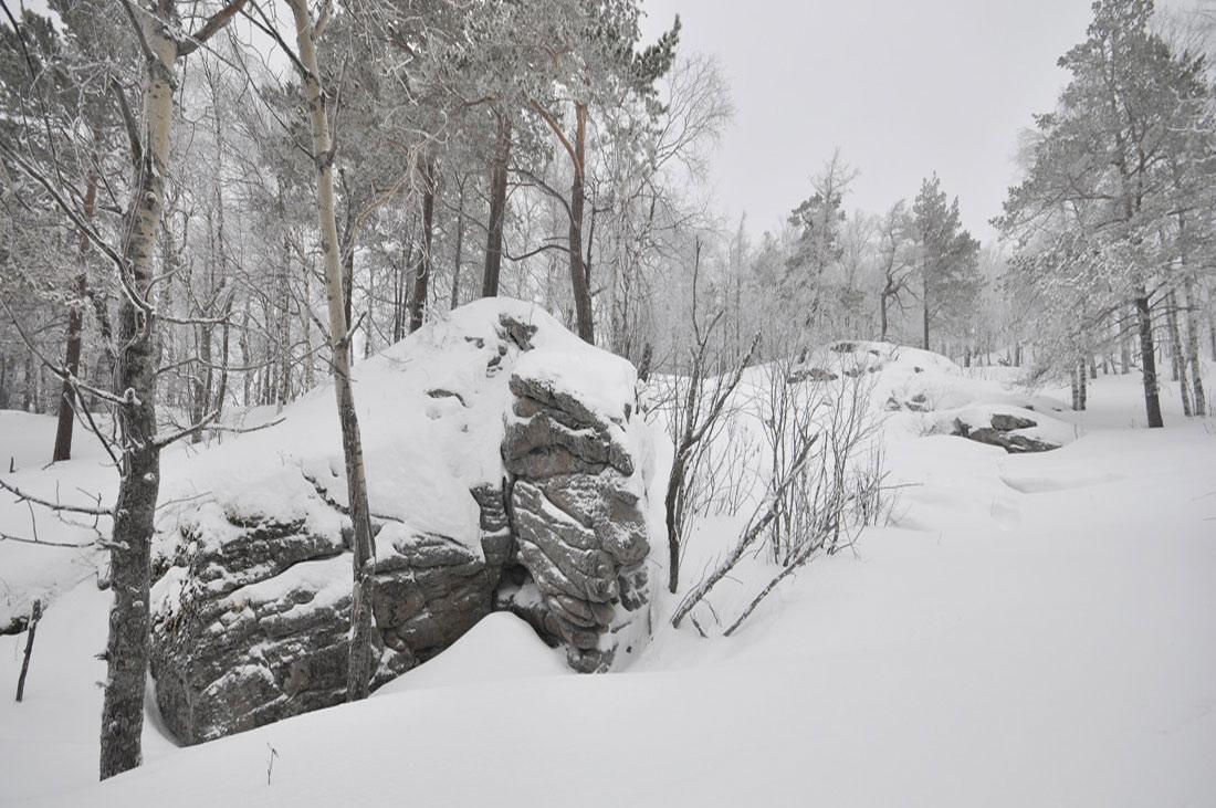 гора Тураташ Южный Урал
