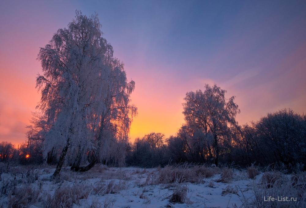 фото Виталий Караван красивая русская зима картинки