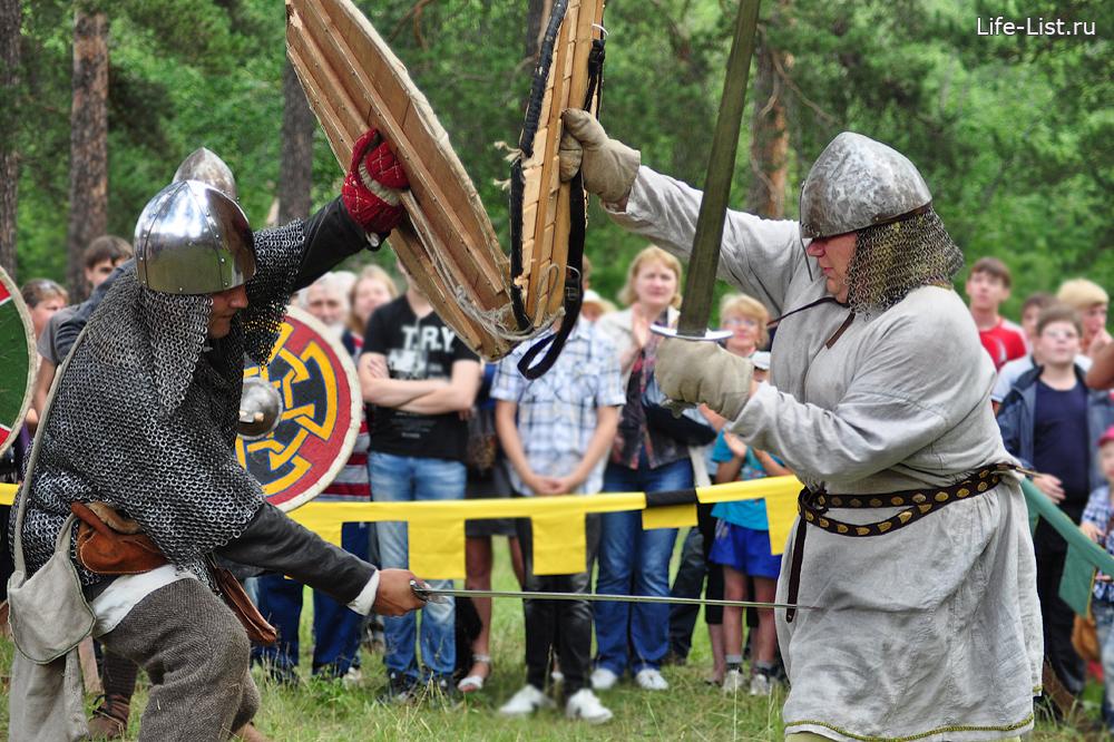 фестиваль исторической реконструкции варяги битва на мечах фото Виталий Караван
