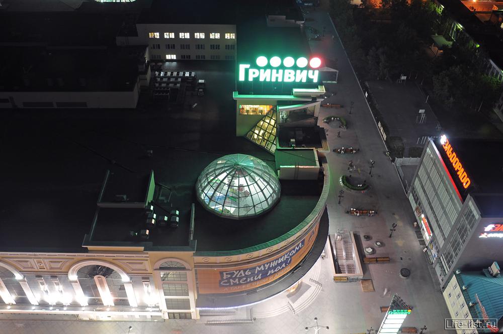 Торговый центр Гринвич вид сверху Екатеринбург