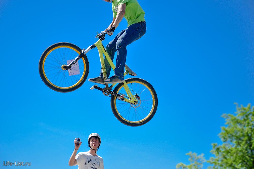 экстрим на велосипедах фотография Виталий Караван bmx