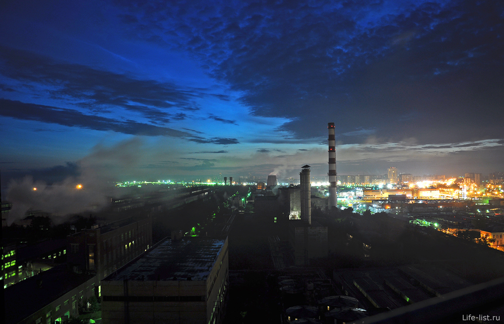 Ночь завод ВИЗ