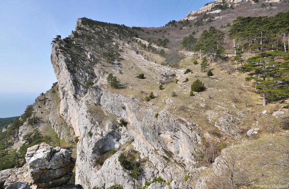 пешком на гору Ай-Петри в Крыму