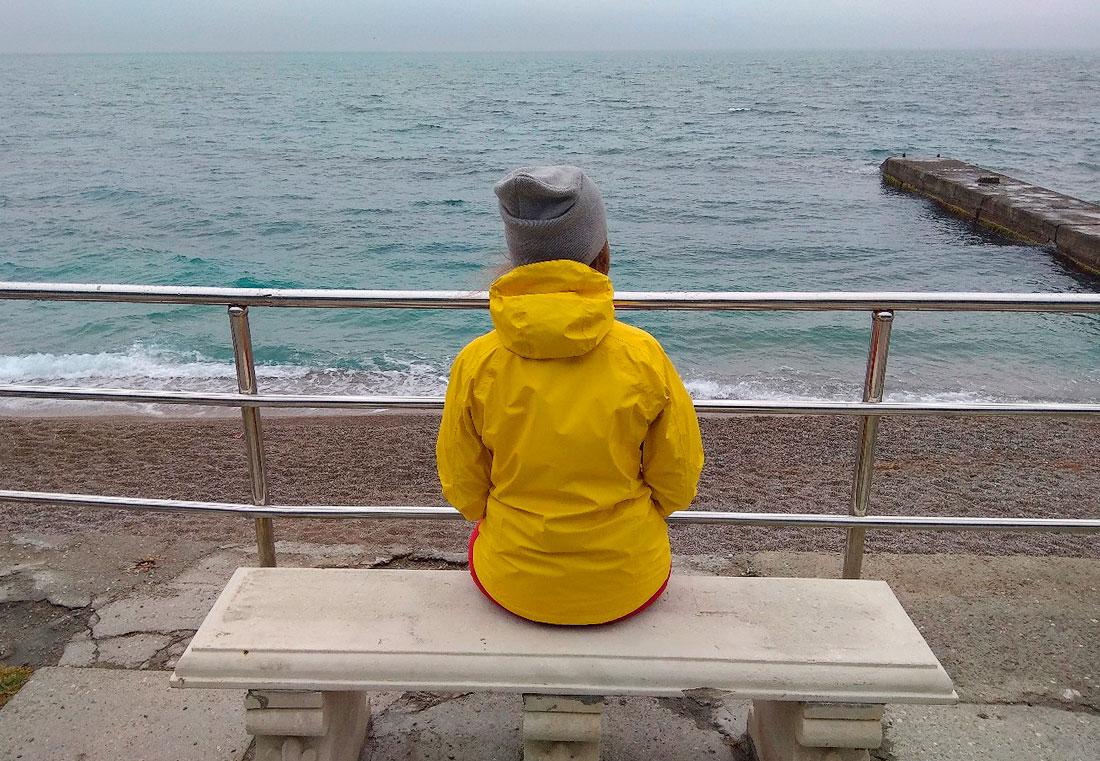 черное море Крым апрель