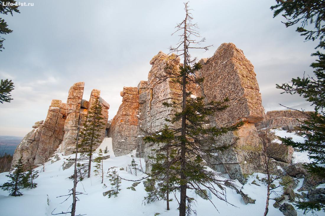 гора Юрма зимой поход