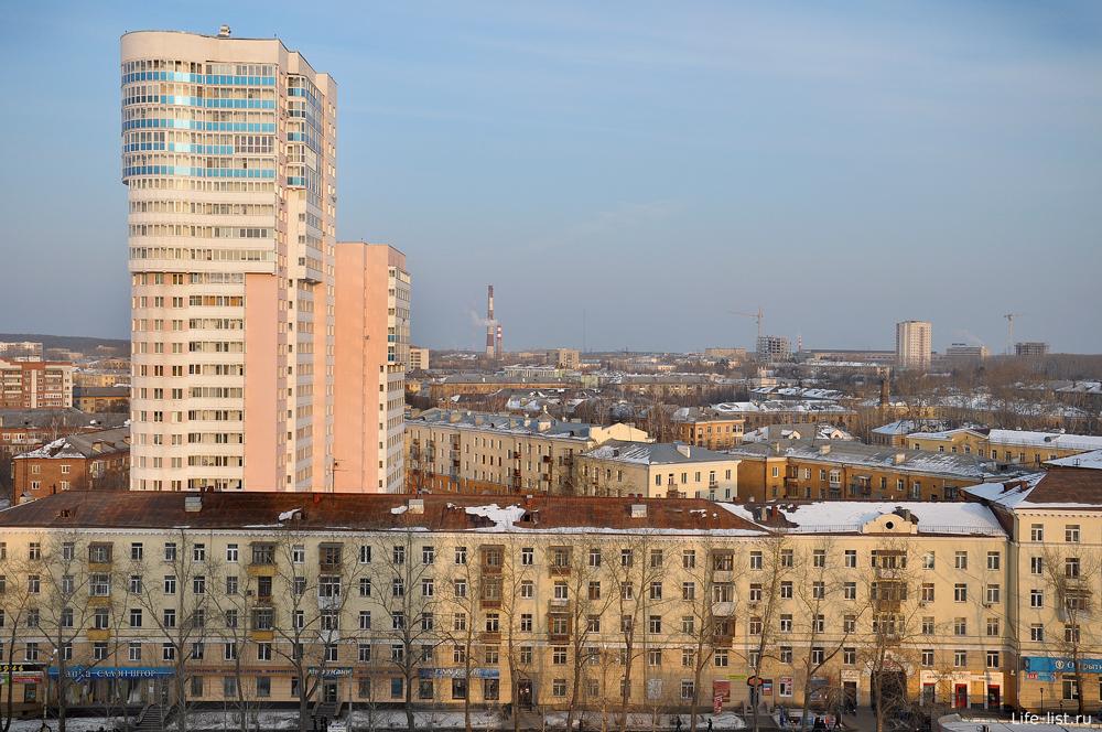 Высотка на Уралмаш Эльмаш Екатеринбург