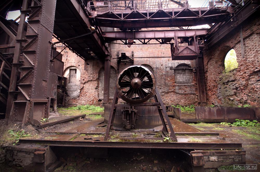 мартеновский цех вентилятор завод музей в тагиле фото