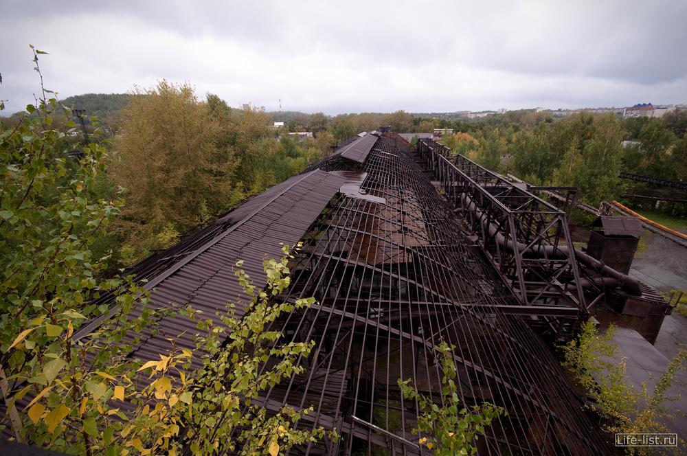 крыша мартеновского цеха завода музея имени куйбышева