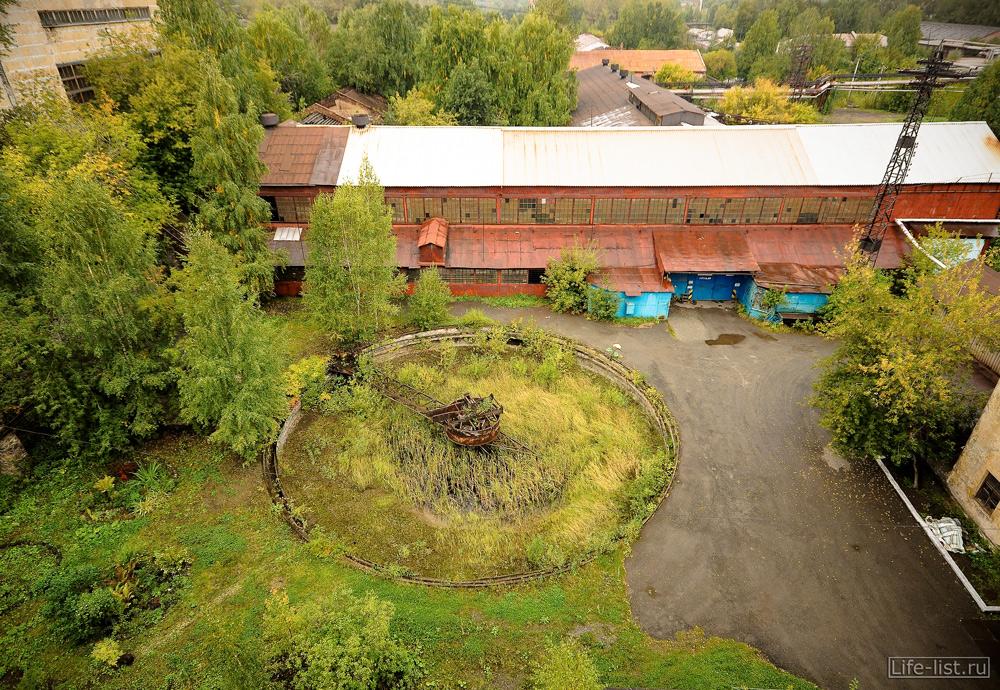 вид сверху на двор завод музей Куйбышева фото