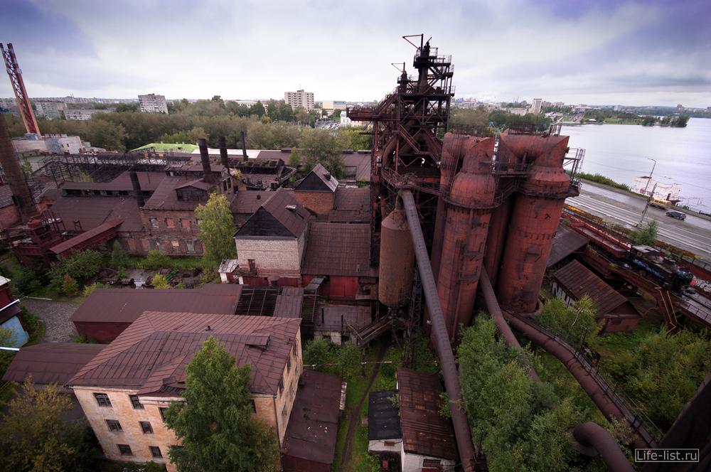 завод имени куйбышева в Свердловской области вид сверху