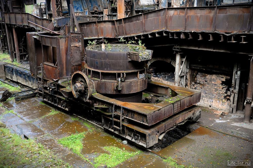 фото в мартеновском цеху завод музей металлургический Нижний Тагил