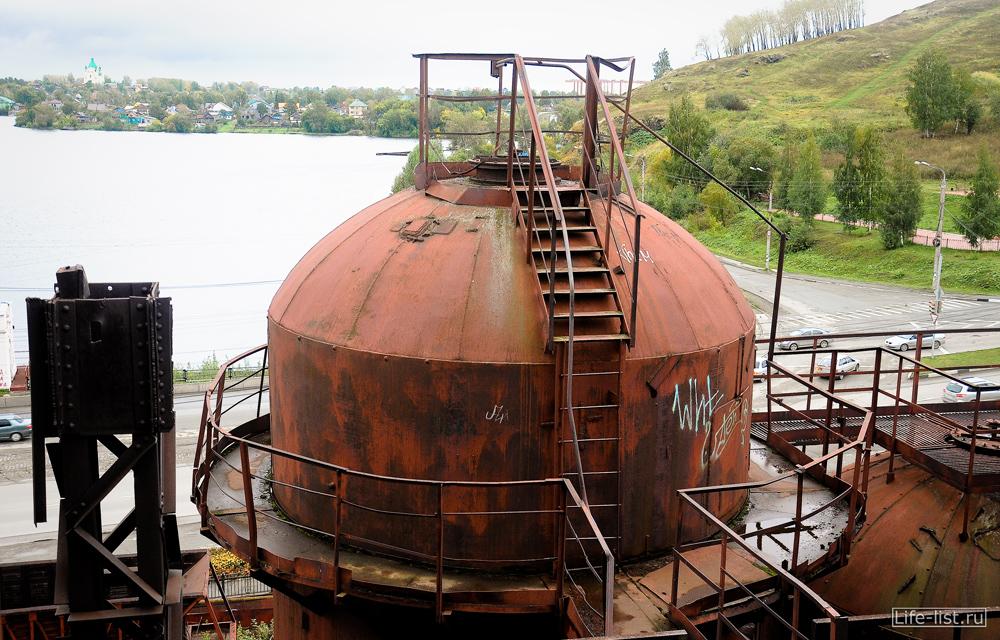 на заводе музее в Нижнем тагиле купол воздухонагревателя