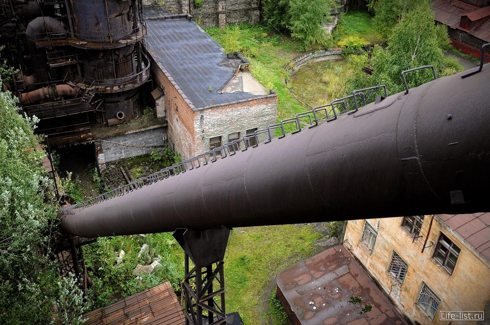 труба со скобами лесенкой завод музей