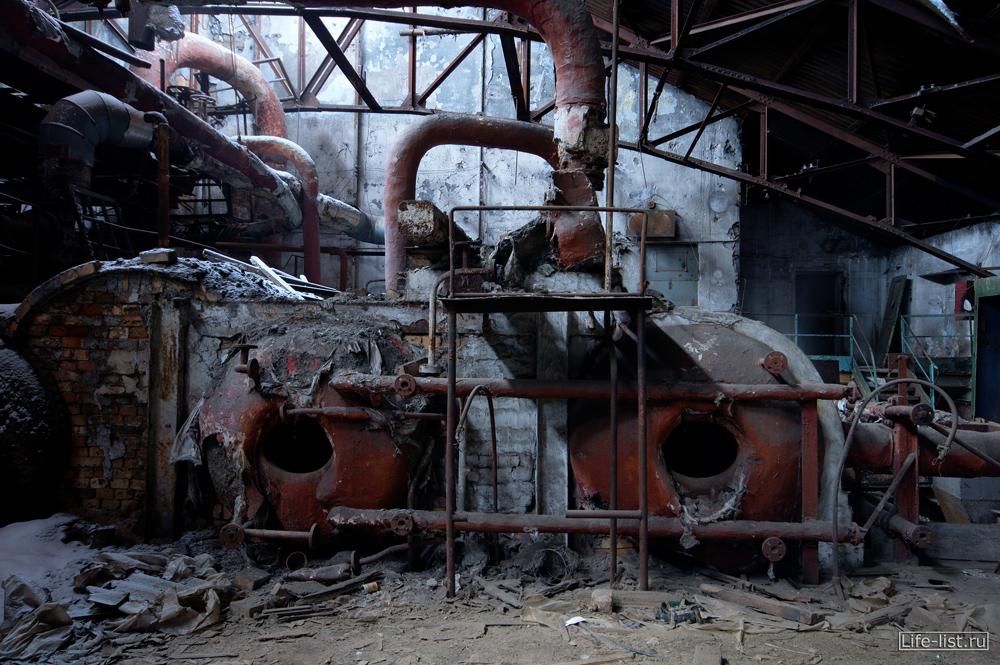 Энергетический цех завод музей урбантрип в Тагиле