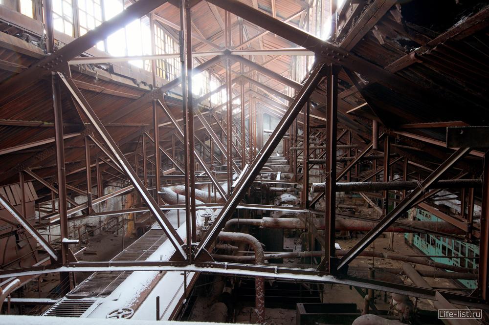 старый цех в тагиле фото Виталий Караван