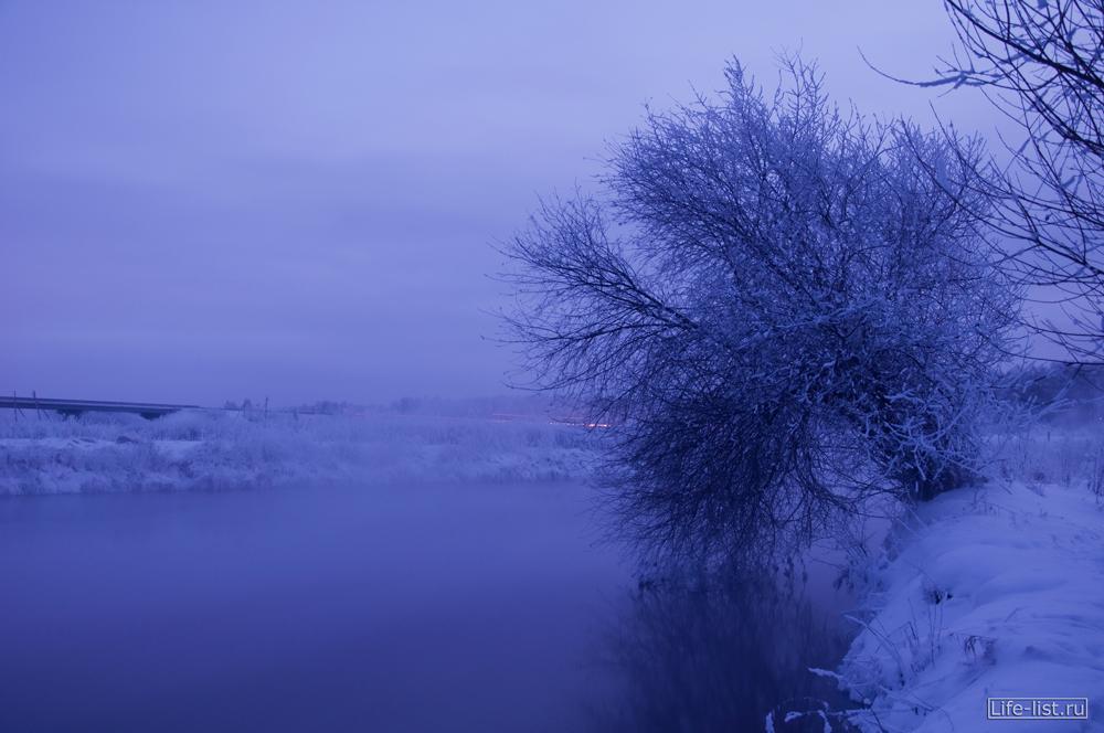 Фото Виталий Караван уральская зимняя природа река Исеть