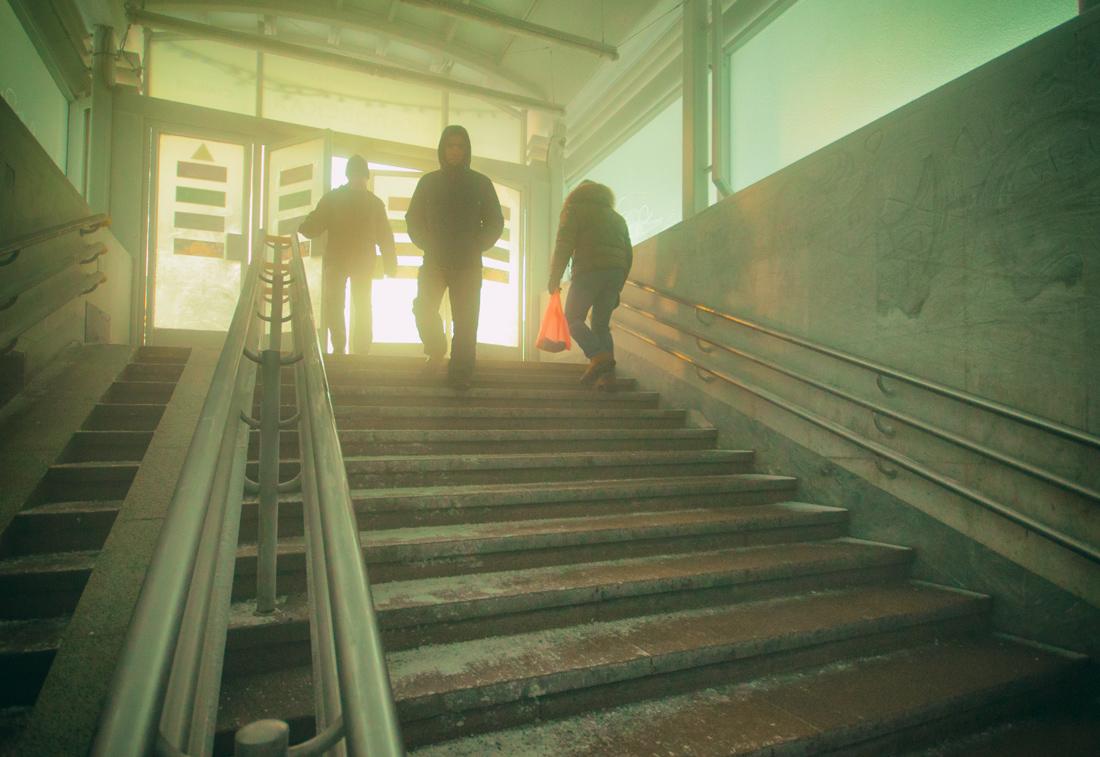 мороз вход в метро Екатеринбург