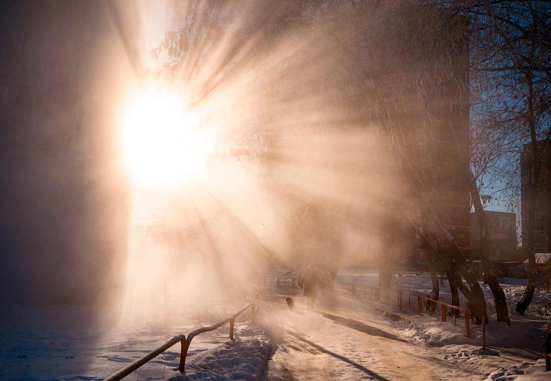 мороз -30градусов суровая зима фото
