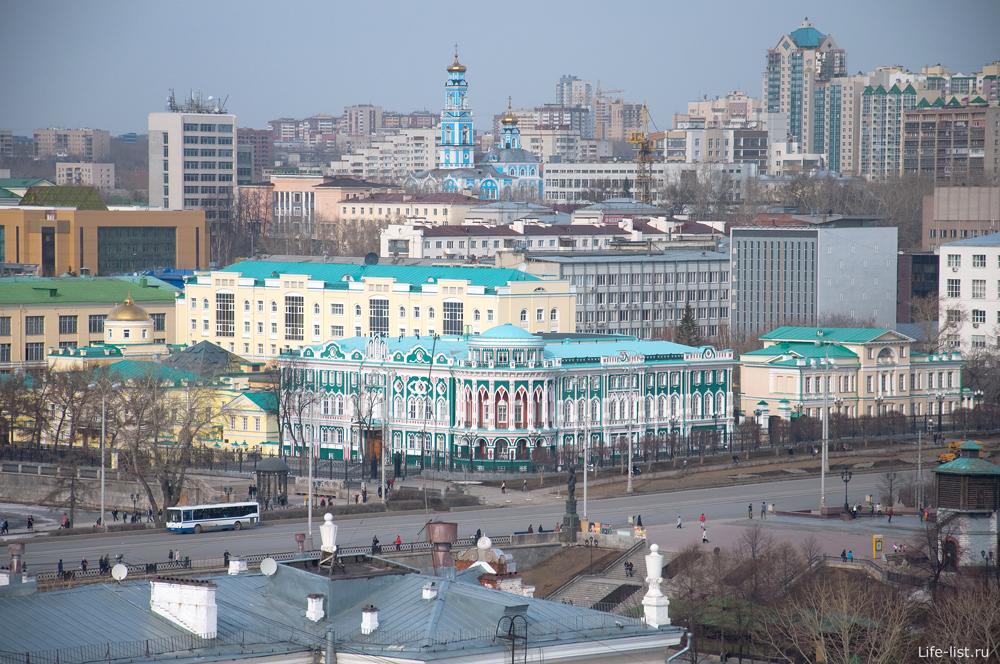 Культурные сооружения Екатеринбурга