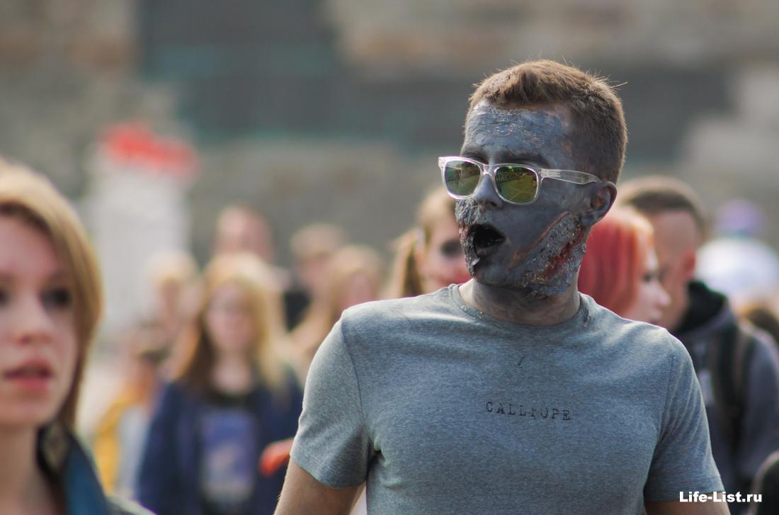 парад Зобми флешмоб Екатеринбург