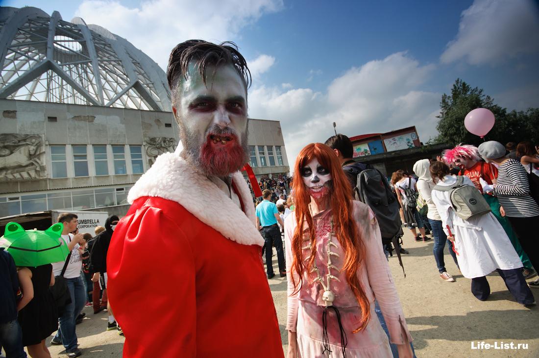 самый крутой зомби в Екатеринбуге на параде Зомби 2014